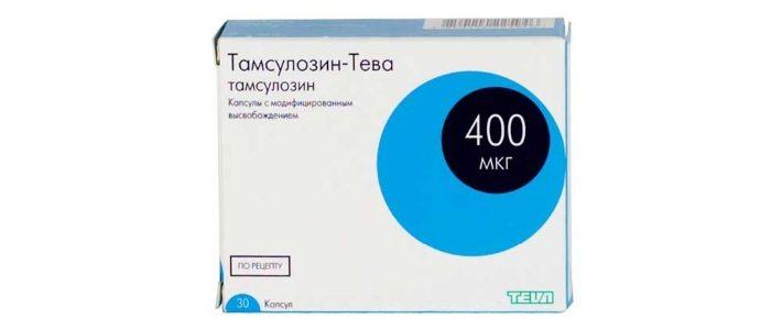 Лечение простатита Тамсузолином