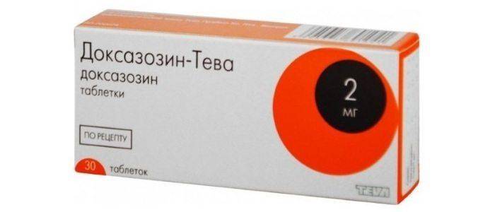 Лечение простатита с помощью Доксазозина