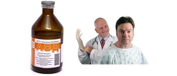 Лечение простатита АСД-2