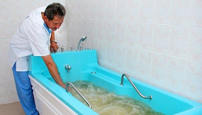 Лечебная ванна с перекисью водорода