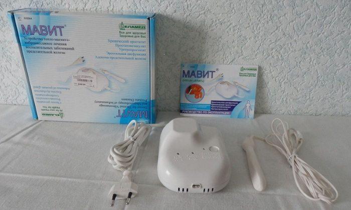 Прибор Мавит для лечения простатита