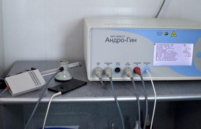 Прибор для электростимуляции простаты