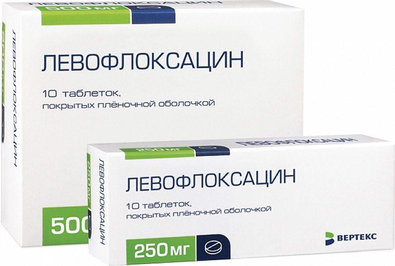 Левофлоксацин (Levofloxacin)