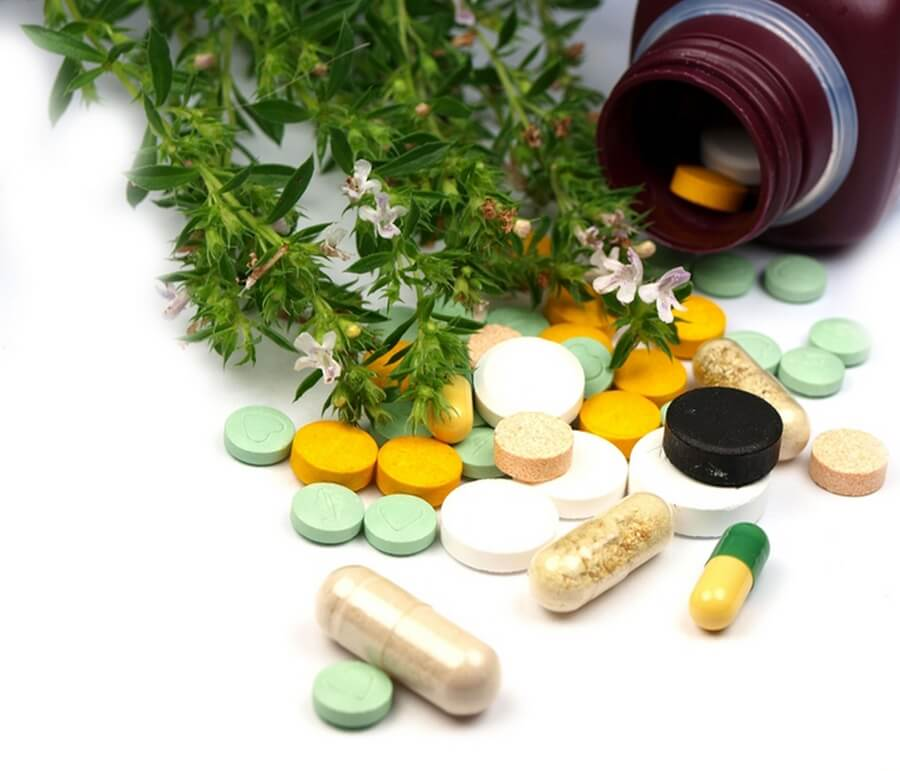 Таблетки и капсулы на основе трав