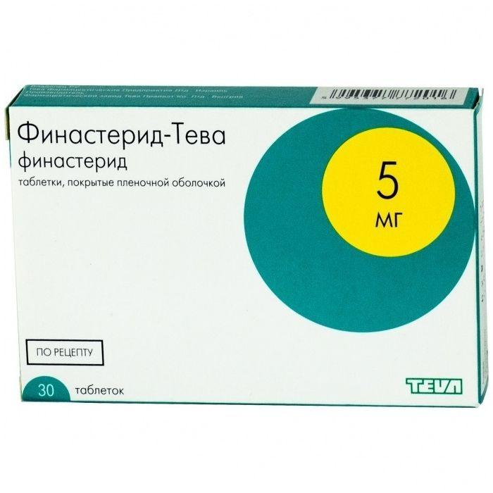 Таблетки Финастерид ТЕВА