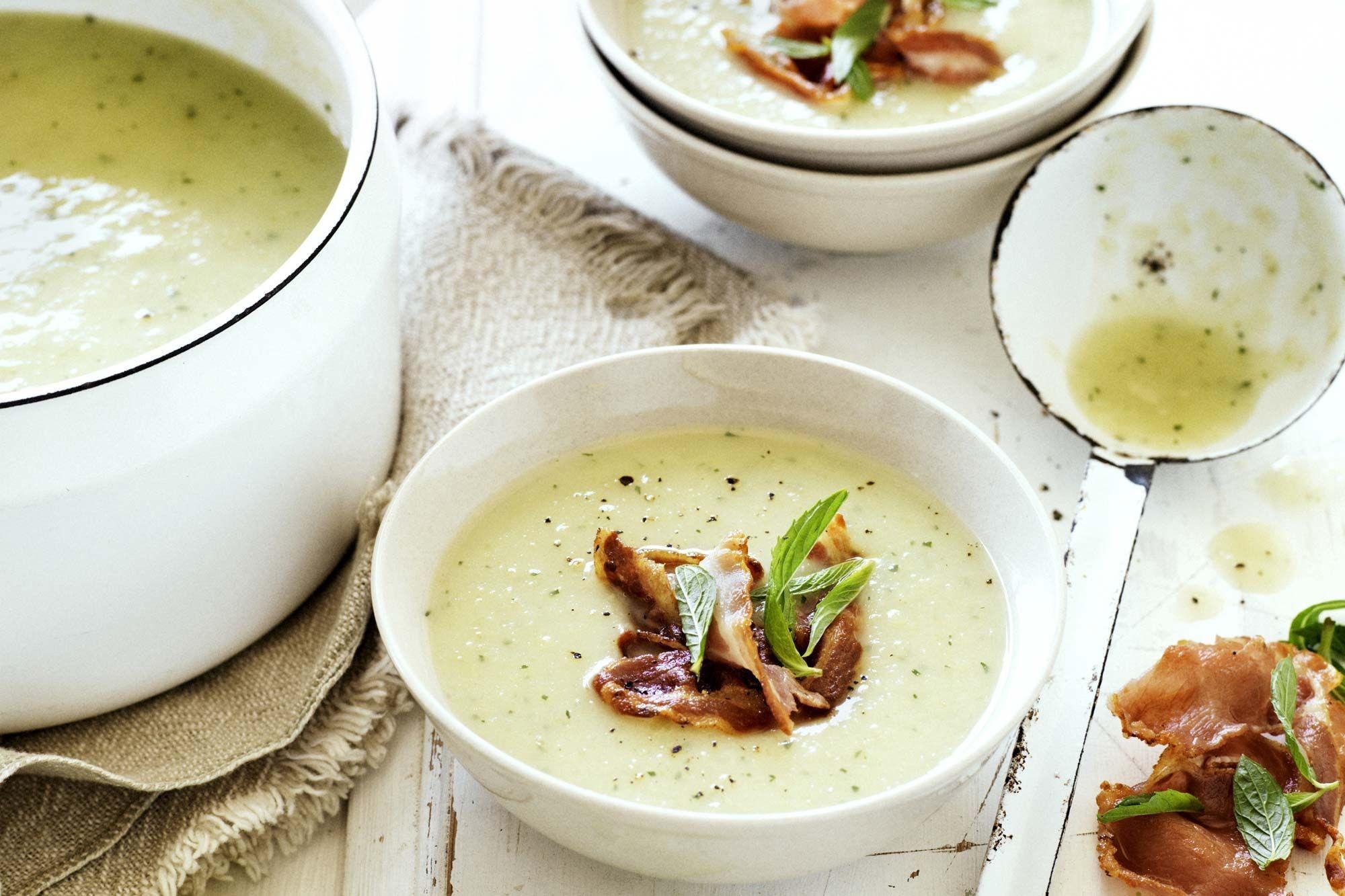Кремовый суп с сельдереем