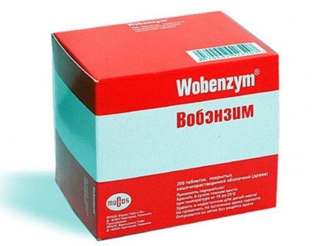 Лечение простатита проводится с применением Вобензима