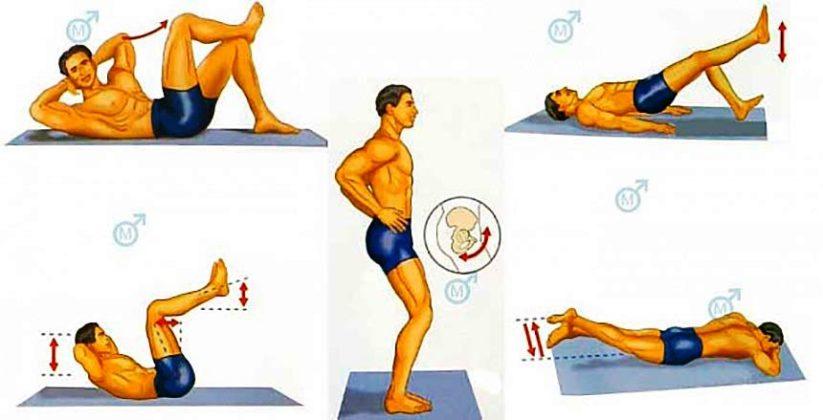 Какие упражнения надо для увеличения члена