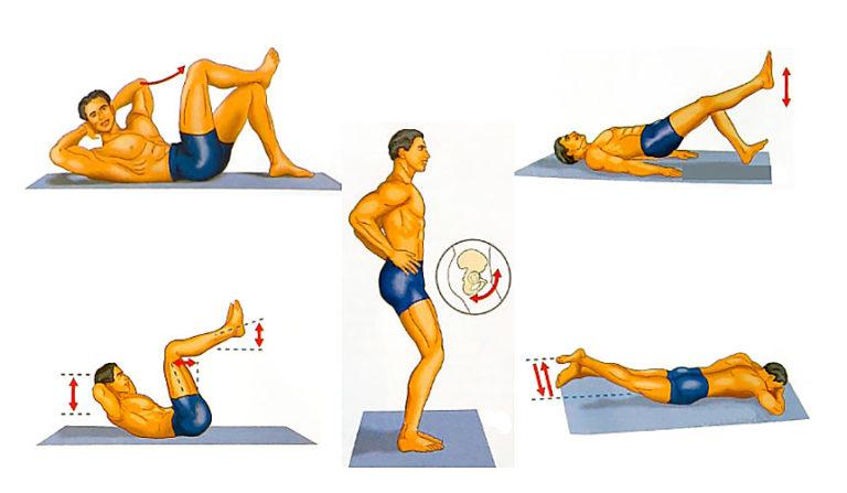 Упражнения для увеличения члена мужчине – техника выполнения
