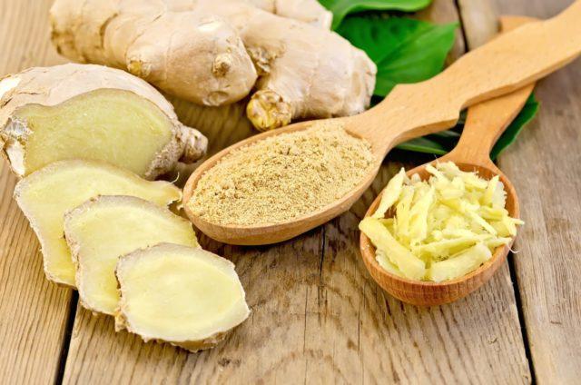 Имбирь улучшает кровоток, препятствуя отложению холестерина на стенках сосудов