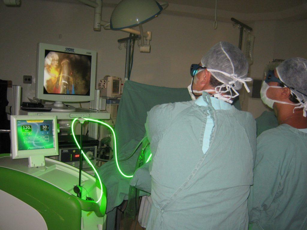 лазерная терапия при простатите