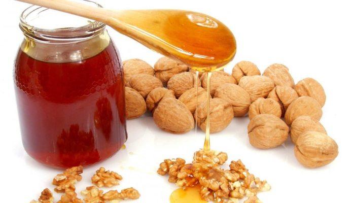 Лечение простатита орехами с медом