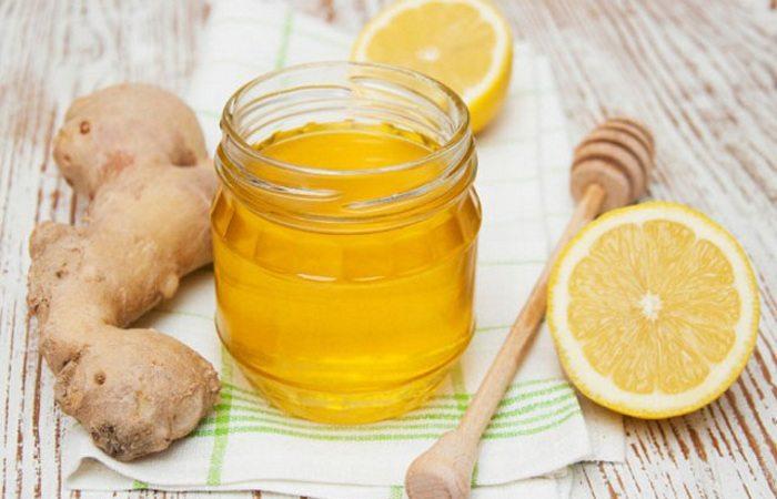 Имбирный мед с лимоном