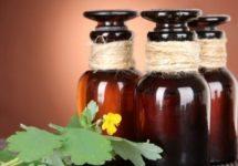Лечение простатита чистотелом