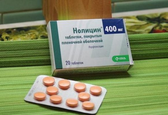 Нолицин при простатите особенности применения и отзывы