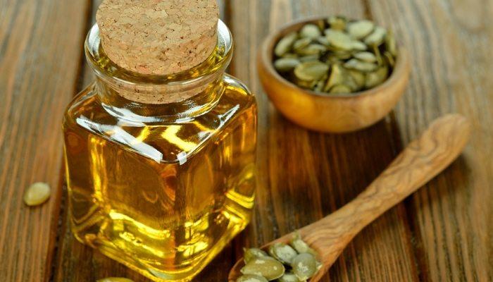 Мед с семенами тыквы