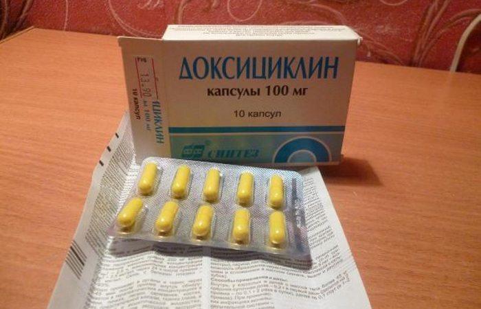Как принимать Доксициклин