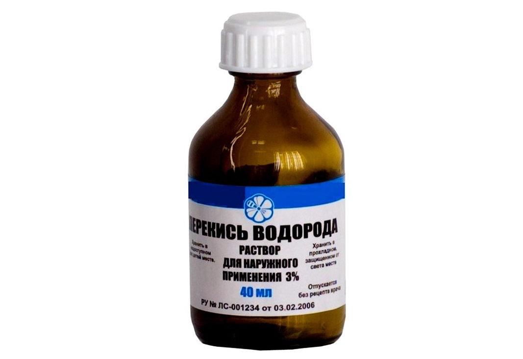Перекись водорода от простатита - применение, побочные эффекты