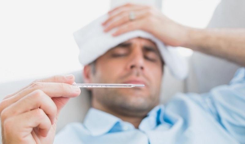 Повышается температура тела при заболевании