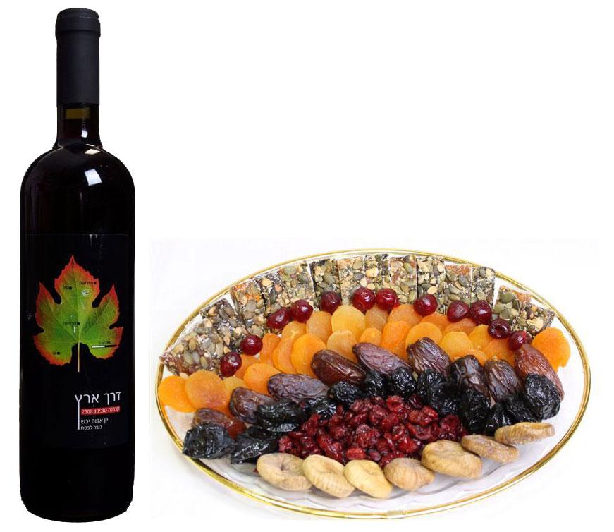 Сухофрукты и вино