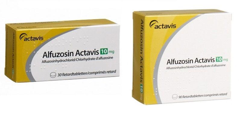 Альфузозин при простатите