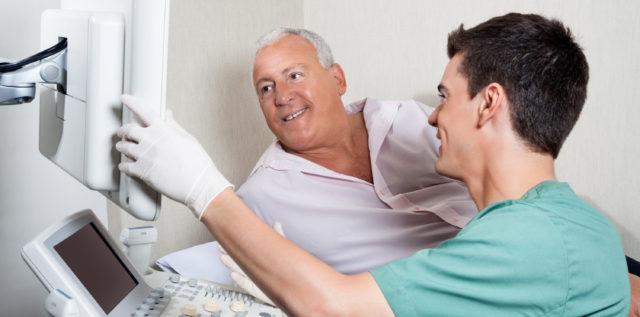 Направление на ультразвуковую диагностику мужчина получает в том случае, когда у него проявляются любые симптомы, указывающие на нарушения простаты