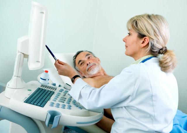 В день диагностики, за 4 часа, пациенту необходимо воздержаться от мочеиспускания