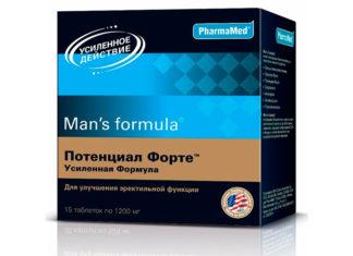 Mens Formula Потенциал форте