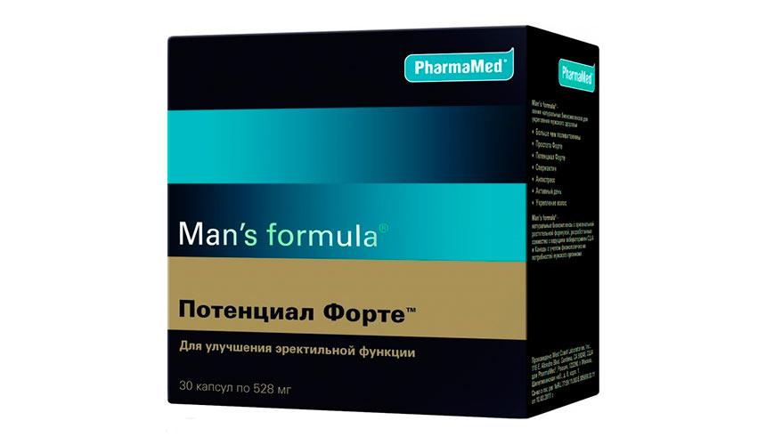 Менс формула Потенциал Форте капс. уп. 30 ФармаМед