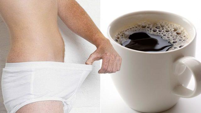 У мужчин, потребляющих несколько чашек кофе в день, либидо намного выше, чем у тех, кто пьет воду, молоко, чай или другие напитки
