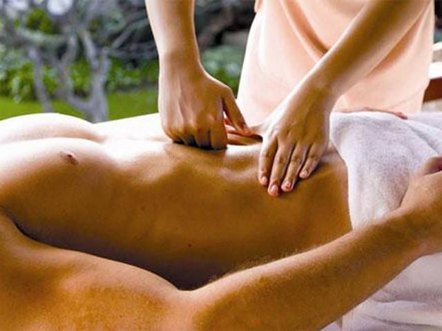 Не малое значение имеет для мужчин массаж лобковой кости, а точнее тканей над ней