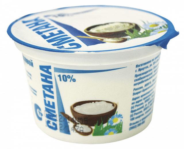 В последнее время сметану стали изготавливать даже из кокосового масла
