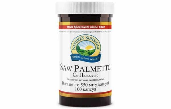 СО Пальметто назначают при острых простатитах и гиперплазии